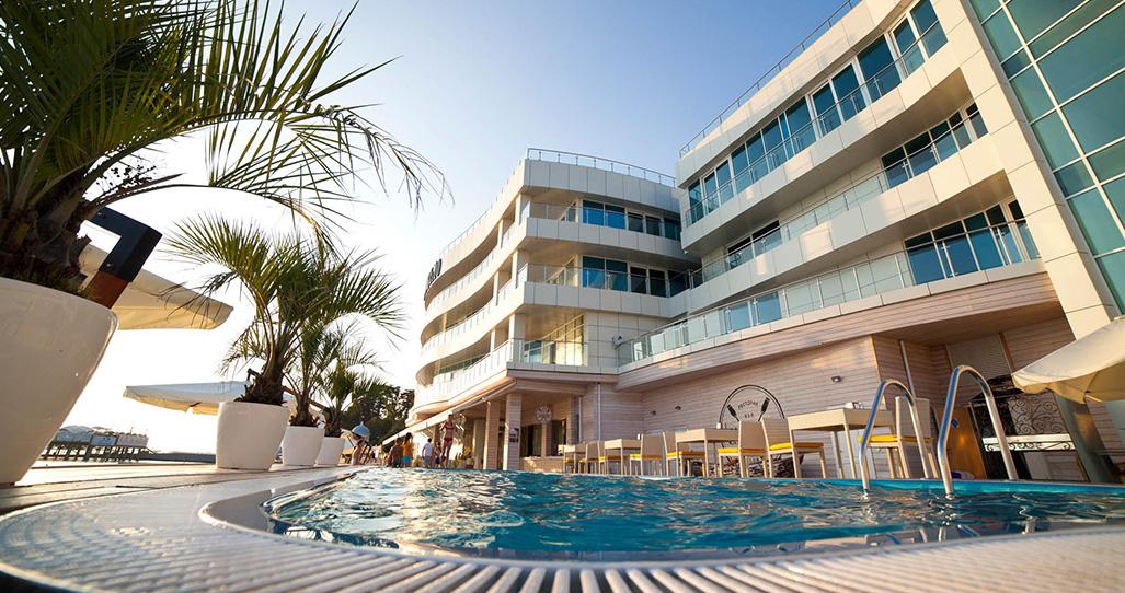 Гостиница на берегу моря в Сочи - Sanremo