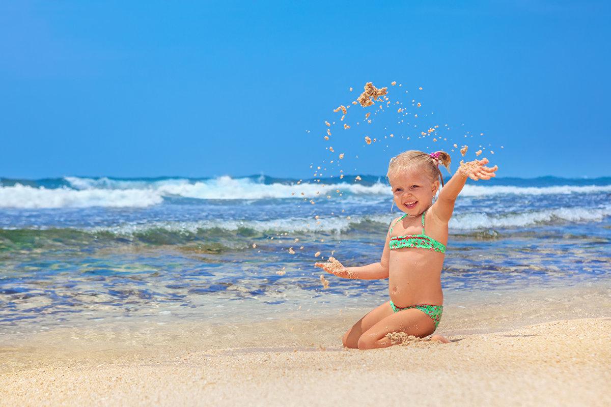 Картинки с моря с детьми